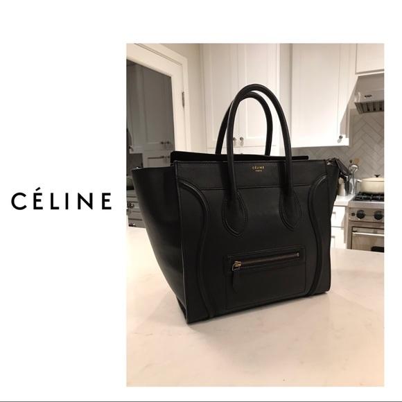 d2ac4941ea Celine Handbags - Céline Luggage Tote